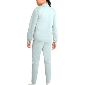 Chándal Nike Dri-Fit Academy 21 niño - Chándal infantil de entrenamiento de fútbol Nike - gris - trasera