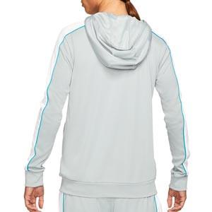 Sudadera Nike Dry Academy Hoodie Joga Bonito - Sudadera con capucha de calle Nike de la colección Joga Bonito - gris - trasera
