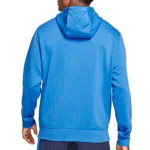 Sudadera Nike Barcelona Club Hoodie - Sudadera de algodón con capucha Nike del FC Barcelona - azul