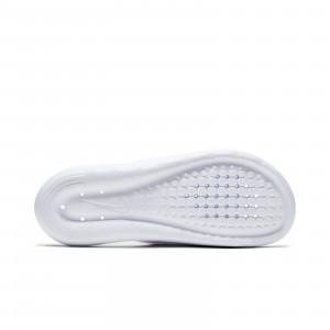 Chanclas Nike mujer Victori One - Chancletas de baño para mujer Nike - blancas - suela