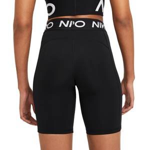 Mallas Nike Pro 365 mujer 20 cm - Mallas cortas de mujer Nike para fútbol - negra