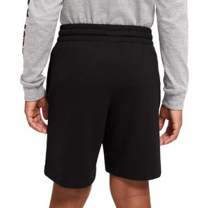 Short Nike Sportswear niño - Pantalón corto infantil de calle Nike - negro