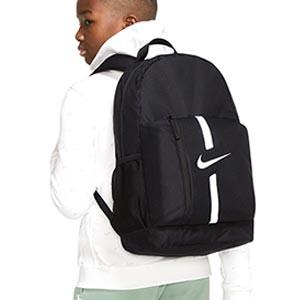 Mochila Nike Academy Team niño - Mochila de deporte infantil Nike (46 x 30,5 x 13 cm) - negra