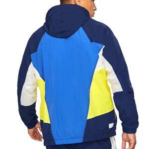 Cortavientos Nike Chelsea Windrunner Woven - Chaqueta cortavientos Nike del Chelsea FC - azul y amarilla