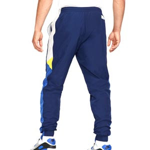 Pantalón Nike Chelsea Windrunner Woven - Pantalón largo de paseo Nike del Chelsea FC - azul