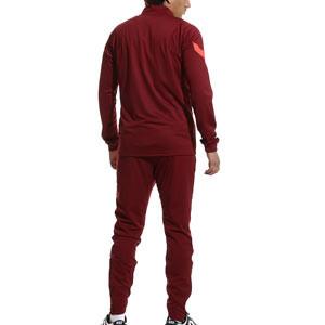 Chándal Nike Liverpool Dri-Fit Strike - Chándal de paseo Nike del Liverpool FC - granate