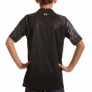 Camiseta Nike Liverpool niño portero 2021 2022 Stadium - Camiseta de manga corta de portero infantil Nike del Liverpool FC 2021 2022 - negra