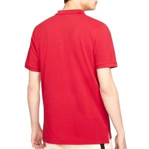 Polo Nike Liverpool Sportswear Crew - Polo de algodón Nike del Chelsea FC - granate