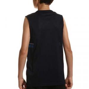 Camiseta tirantes Nike Dri-Fit Academy 21 niño - Camiseta sin mangas infantil de entrenamiento de fútbol Nike - azul marino - hover