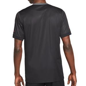 Camiseta Nike 3a PSG 2021 2022 Dri-Fit Stadium - Camiseta de la tercera equipación Nike del París Saint-Germain 2021 2022 - negra