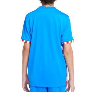 Camiseta Nike 3a Atlético niño 2021 2022 Stadium - Camiseta tercera equipación infantil Nike del Atlético de Madrid 2021 2022 - azul