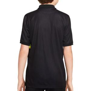 Camiseta Nike 3a Inter 2021 2022 niño Dri-Fit Stadium - Camiseta tercera equipación infantil Nike del Inter de Milán 2021 2022 - negra