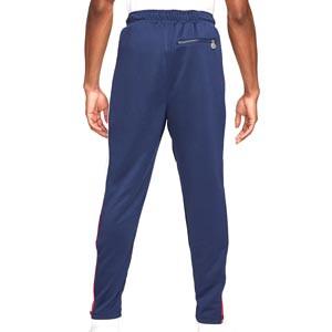 Pantalón Nike PSG x Jordan - Pantalón largo de paseo Nike x Jordan del París Saint-Germain - azul marino