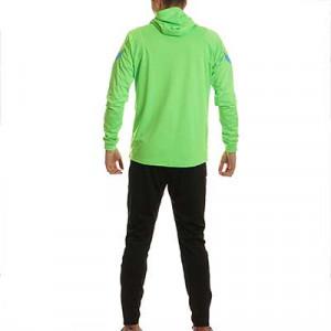 Chándal Nike Inter Dri-Fit Strike Hoodie UCL - Chándal de paseo Nike del Inter de la Champions League 2021 2022 - verde, negro