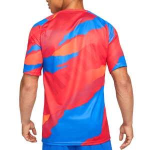 Camiseta Nike Atlético pre-match UCL - Camiseta pre partido del Atlético de Madrid para la Champions League 2021 2022 - roja
