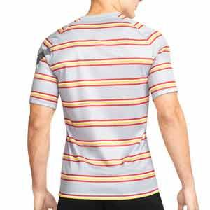 Camiseta Nike Liverpool pre-match UCL - Camiseta calentamiento pre partido del Liverpool para la Champions League 2021 2022 - gris