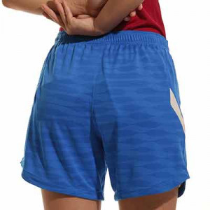 Short Nike Barcelona entrenamiento mujer Dri-Fit Strike - Pantalón corto de entrenamiento para mujer Nike del FC Barcelona - azul - trasera