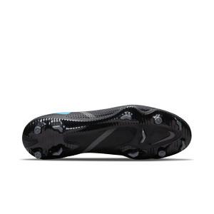 Nike Phantom GT2 Pro DF FG - Botas de fútbol con tobillera Nike FG para césped natural o artificial de última generación - negras