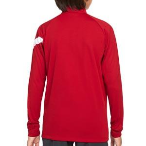 Sudadera Nike Liverpool entrenamiento niño Academy Pro - Sudadera infantil de entrenamiento Nike del Liverpool FC - roja