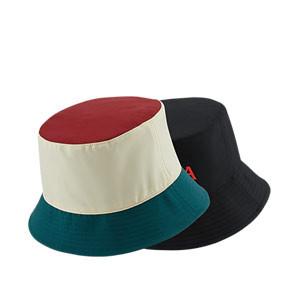 Gorro Nike Liverpool Dri-Fit Bucket Reversible - Sombrero tipo pescador Nike del Liverpool FC - negro, beige