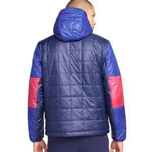 Chaqueta Nike Barcelona Synthetic-Fill Fleece - Chaqueta impermeable Nike del Barcelona - azul marino