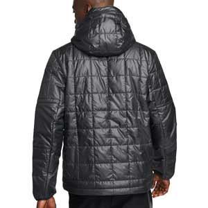 Chaqueta Nike PSG Synthetic Fill Fleece - Chaqueta impermeable Nike del Paris Saint-Germain - negra