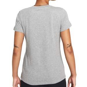 Camiseta Nike Sportswear Shine Just Do It - Camiseta de algodón para mujer Nike - gris