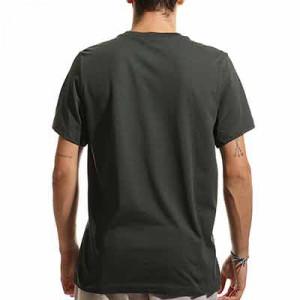 Camiseta Nike Atlético Swoosh Club UCL - Camiseta de algodón Nike del Atlético de Madrid Champions League - verde oscuro