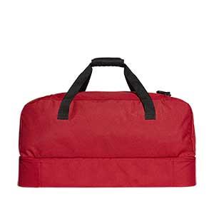 Bolsa de deporte adidas Tiro grande - Bolsa de deporte adidas Tiro (58 x 32 x 29 cm) - roja - trasera