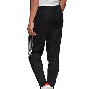 Pantalón adidas Condivo 20 - Pantalón largo de entrenamiento de fútbol adidas - negro - trasera
