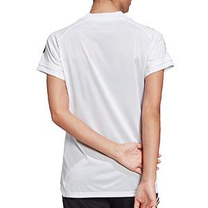 Camiseta adidas Condivo 20 mujer - Camiseta de mujer de entrenamiento de fútbol adidas - blanca - trasera