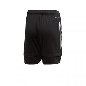Short adidas Condivo 20 niño - Pantalón corto de entrenamiento de fútbol infantil adidas - negro - trasera