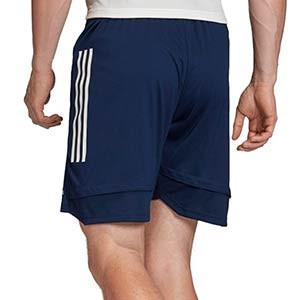 Short adidas Condivo 20 - Pantalón corto de entrenamiento de fútbol adidas - azul marino - trasera