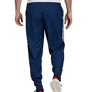 Pantalón adidas Condivo 20 Presentación - Pantalón largo de chándal adidas - azul marino - trasera