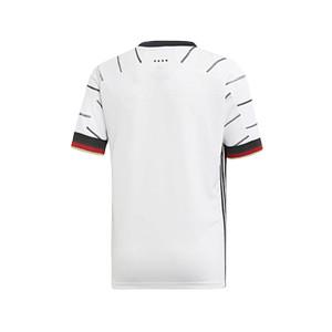 Camiseta adidas Alemania niño 2019 2020 - Camiseta niño primera equipación selección alemana 2019 2020 - blanca - trasera