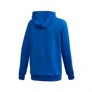 Sudadera con capucha adidas Condivo 20 - Sudadera con capucha de entrenamiento de fútbol infantil adidas - azul - trasera