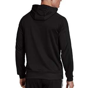 Sudadera con capucha adidas Condivo 20 - Sudadera con capucha de entrenamiento de fútbol adidas - negra - trasera