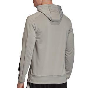 Sudadera con capucha adidas Condivo 20 - Sudadera con capucha de entrenamiento de fútbol adidas - gris - trasera