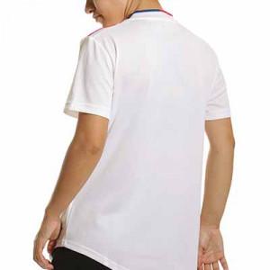 Camiseta adidas Olympique Lyon femenino 2021 2022 - Camiseta primera equipación adidas del Olympique de Lyon femenino 2021 2022 - blanca