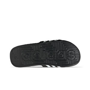 Chanclas adidas Adissage - Chancletas de baño adidas - negras - suela