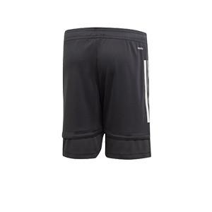 Short adidas Alemania niño entreno 19 2020 - Pantalón corto infantil de entrenamiento selección alemana 2019 2020 - gris - trasera