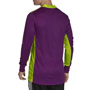 Camiseta portero adidas Adipro 20 GK - Camiseta de manga larga de portero adidas - morada - trasera