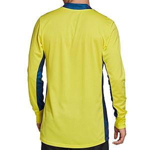 Camiseta portero adidas Adipro 20 GK - Camiseta de manga larga de portero adidas - amarilla - trasera