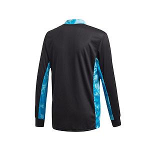 Camiseta portero adidas Adipro 20 GK niño - Camiseta de manga larga de portero infantil adidas - negra - trasera