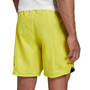 Short adidas Condivo 20 - Pantalón corto de entrenamiento de fútbol adidas - amarillo - trasera