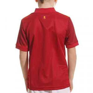 Camiseta adidas España niño 2019 2020 - Camiseta infantil primera equipación selección española 2019 2020 - roja - trasera