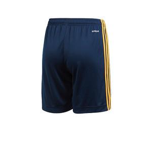 Short adidas España niño 2019 2020 - Pantalón corto infantil primera equipación selección española 2019 2020 - azul marino - trasera