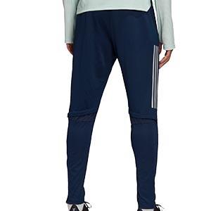 Pantalón adidas España entreno 2020 2021 - Pantalón largo de entrenamiento de la selección española 2020 2021 - azul marino - trasera