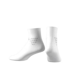 Calcetines adidas Alpshaskin semi acolchados - Calcetines tobilleros de entrenamiento acolchados adidas - blancos