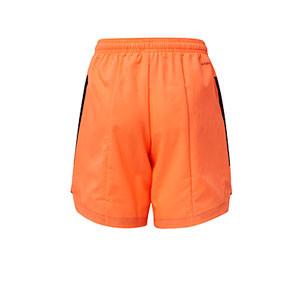 Short adidas Condivo 20 niño - Pantalón corto de entrenamiento de fútbol infantil adidas - naranja - trasera
